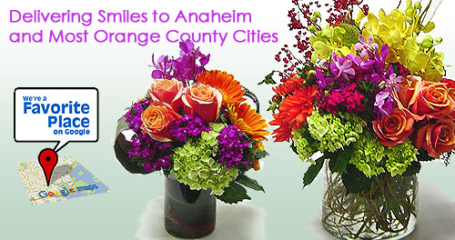 Florist in Anaheim CA, Avante Gardens - Your Orange County source for Fresh Flowers delivery