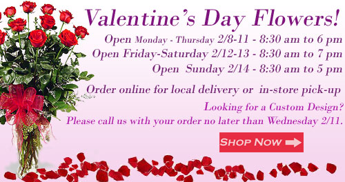 Florist in Anaheim CA, Avante Gardens - Your Anaheim and Orange County source for Fresh Valentine's Day Flowers delivery