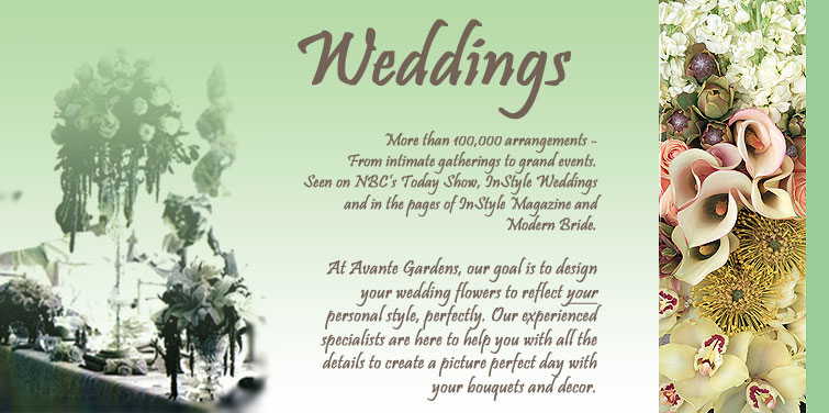 Wedding Florist of Orange County