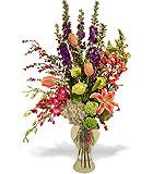 Design Your Own Garden Vase Arrangement