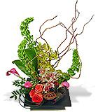 Design Your Own Ikebana Style Arrangement