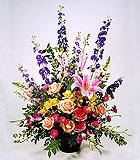 Spring Flowers Tribute