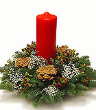 European Classic Christmas Centerpiece