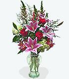 Sparkling Love Valentine's Day Vase