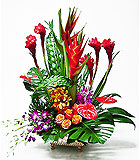 Tropical Garden by Anaheim Florist Avante Gardens