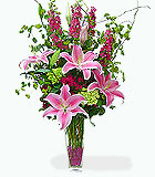 Stargazer Lilies and Garden Flowers by Anaheim Florist: Avante Gardens