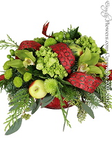 Holiday Spirit Christmas Flowers by Avante Gardens