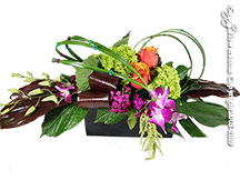 Contemporary Birthday Centerpiece by Anaheim Florist: Avante Gardens