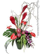 Cool Tropics Vase
