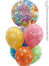 Birthday Bubble Balloons Delivery In Orange County California.