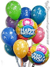 Birthday Big Polka Dots - Qualatex Balloons
