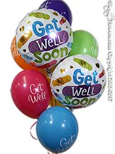 Get Well Soon Big Band Aid Balloons