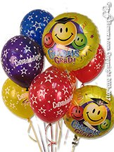 Congrats Grad Foil Balloons
