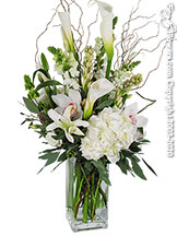 Ivory Flower Elegant White Flower Arrangement