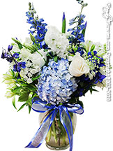 Sapphire Blooms Deluxe Flower Delivery Orange County, CA