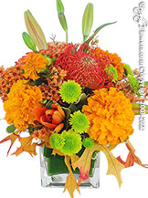 Autumn Blossom Autumn Flower Arrangements For Delivery