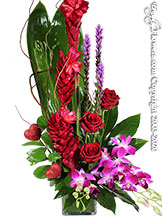 Exotic Tropical Valentine by Avante Gardens