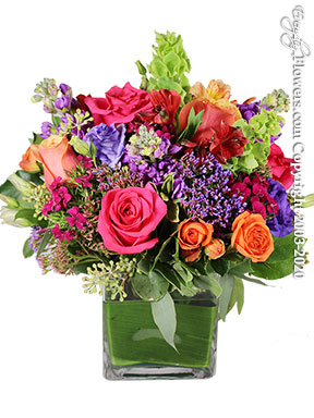 Colorful Blossom Bigger Delivery by Avante Gardens Florist