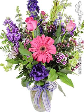 Lavender Gardens - Purple and Pink Flowers by Avante Gardens Florist