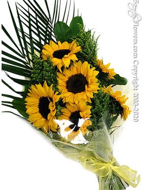 Sunflower Bouquet delivery by Avante Gardens Anaheim Florist