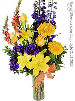 Spring Sunshine Flower Delivery by Avante Gardens