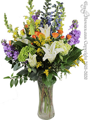 Springtime Flower Love delivery by Avante Gardens