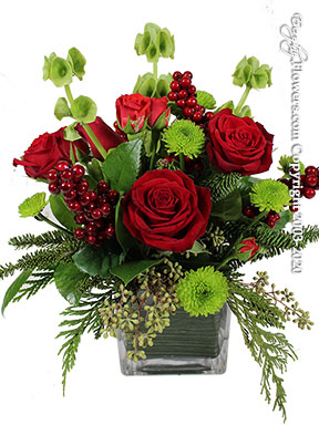 Holiday Cheer Flower Delivery by Avante Gardens