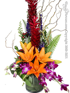 Sunset Tropics Tropical Flowers Delivered in Orange County, California by Avante Gardens