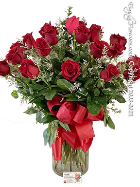 Three Dozen Long Stem Red Roses Same Day Delivery by Avante Gardens