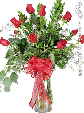 Dozen Long Stem Red Roses Delivery by Avante Gardens Anaheim Florist