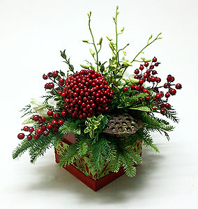 New Traditions Christmas Centerpiece