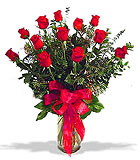 Roses - One Dozen Red Roses