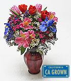 Valentine's Day Sweetheart Garden Vase
