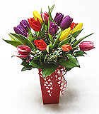 Valentine's Day Tulip Kiss Arrangement